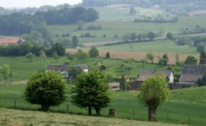 uitzicht in Zuid-Limburg