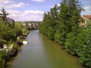 stad rivierengebied